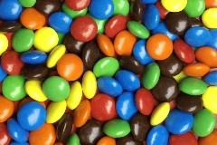 bonbons m & m's