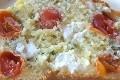 cake aux tomates cerises, feta et basilic