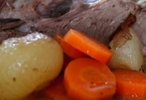 coeur de veau aux carottes