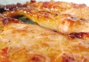 côte de porc caramélisée et marinée au citron