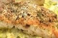 darne de saumon poelee au beurre d'aneth