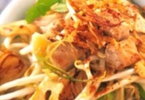 duo de porc à l'asiatique