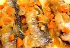 escabèche de sardines aux légumes