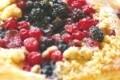 feuillete aux fruits rouges (facon crumble)
