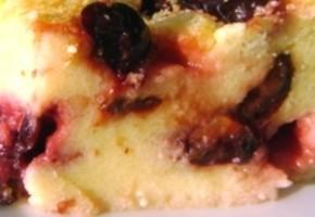 flan aux prunes et fromage blanc