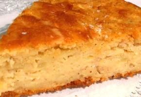 gâteau aux pommes râpées et cannelle