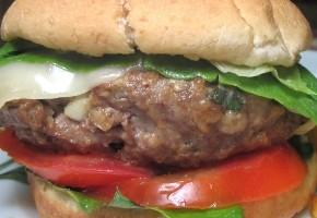 hamburgers d'agneau