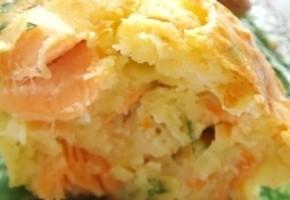 mini cakes au saumon fumé