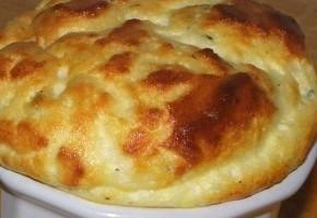mini soufflés au fromage