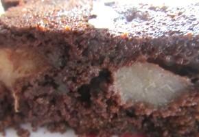 moelleux chocolat et poire