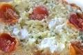 muffins aux tomates cerises, feta et olives