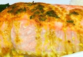 pavés de saumon au beurre d'épices