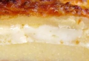 polenta aux 2 fromages