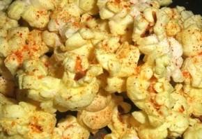 pop corn épicé