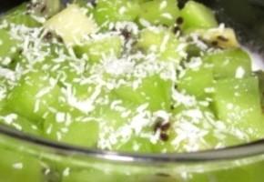 salade de fruits à la noix de coco