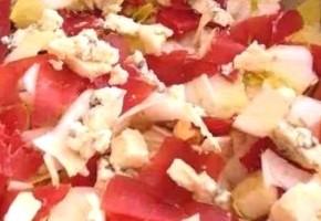 salade montagnarde à la bresaola et bleu
