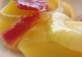 salade paysanne aux pommes de terre et bacon