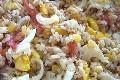 salade de riz au mais