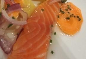 saumon mariné façon hareng