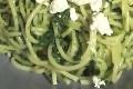 spaghetti aux epinards