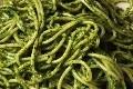 spaghettis a la creme d'epinard