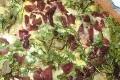 tarte au cresson et fromage de chevre (sans gluten)