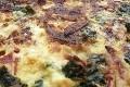 tarte aux epinards et roquefort